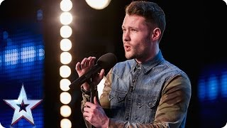 Golden boy Calum Scott hits the right note | Audition Week 1 | Britain's Got Talent 2015