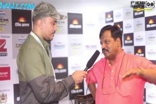 Director T. S. Nagabharana Exclusive Interview - 8th Jagran Film Festival 2017 #jff2017