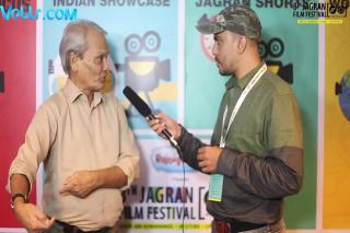 Director/Actor Vinod Pande Exclusive Interview - 8th Jagran Film Festival 2017 #jff2017