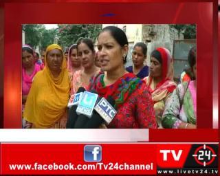 लहरागागा - आंगनवाड़ी कार्यकर्ताओं का सरकार के खिलाफ प्रदर्शन