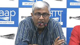 Aap Leader Ashutosh Brief Media on BHU Incident