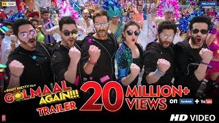 Golmaal Again Official Trailer Launch | Aja4y Devgn, Parineeti, Rohit Shetty | Golmaal 4