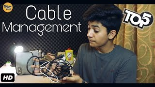 Top 5 Accessories which will help in Cable Management l In Hindi l Giveaway!!