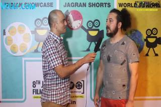 Director Olgun Ozdemir Exclusive Inteview - 8th Jagran Film Festival 2017 #jff2017