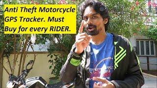 Anti Theft Motorcycle GPS Tracker. Track Stolen Motorcycle. TKSTAR TK905.