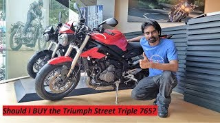 Should I BUY the Triumph Street Triple 765? My Touring Motorcycle HUNT.
