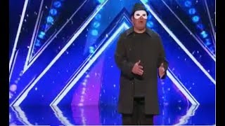 America's Got Talent 2017 The Man Of Mystery