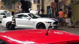 Mustang Got Busted In DELHI | Supercars Meet | NASA