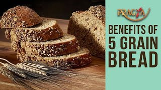 BENEFITS Of 5 Grain Bread (MULTIGRAIN) | Mrs. Rashmi Bhatia (Dietcian)