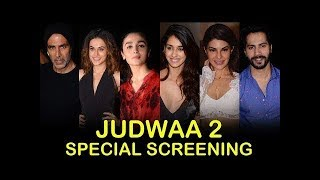 Judwaa 2 Movie GRAND Special Screening | Varun Dhawan, Jacqueline Fernandez, Taapsee Pannu