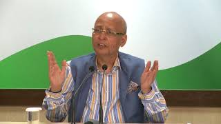 AICC Press Briefing By Abhishek Singhvi at Congress HQ, October 02, 2017