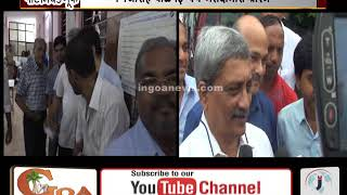 Parrikar Casts His Vote, Says There Is No Opposition for Him