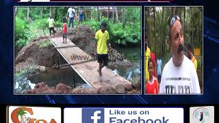 Tired of Waiting for Government Help, Velsao Locals Build Footbridge
