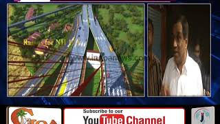 Zuari Bridge Will Be Completed In Any Circumstance Before Dec 2019: Dhavlikar