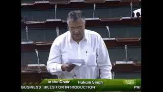 Drinking water and Sanitation issues raised by PP Chaudhary in Parliament