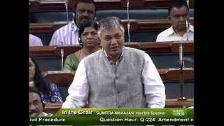 PP Chaudhary speech at Parliament on dated 12.03.2015