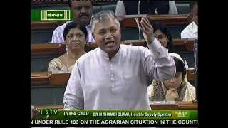 PP Chaudhary : Discussion on Issue of Indian Agriculture