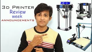 Announcing 3D printer Review Week