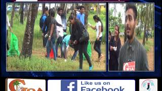 V.M. Salgaocar College Undertakes Beach Cleanliness Drive at Miramar