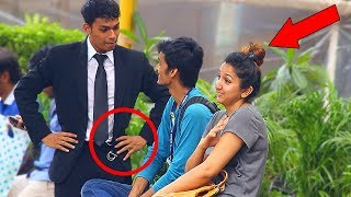 BODYGUARD PRANK ON COUPLES | PRANKS IN INDIA