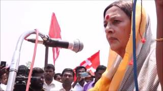 Save Thamirabarani CPIM Movement  Com Brinda Karat introductory speech