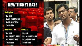 Mersal will release Vishal confirms | Theater new ticket rate