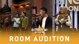 Syamka, Armuse, J.A.B, Smirnoff  | Room Audition 4 | Rising Star Indonesia 2016