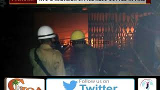 Major Fire at KTC Bus Stand Panjim, RTO & Kadamba Office Gutted in Fire