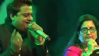 Anuradha Paudwal | Live Performance | Non Stop Song | Khandwa | Kishore Kumar
