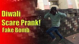 Best Diwali/Fake Bomb Scare Prank! - Virar2Churchgate