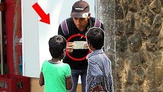 Poor Kids Money Honesty Social Experiment n Pranks in India