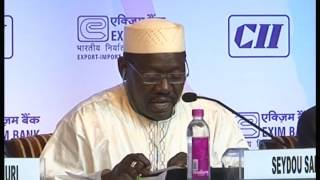 Hon. Seydou Sadou, Minister of Trade and Private Sector Promotion, Republic of Niger