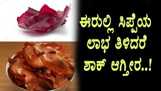 Amazing benefits of onion peel | Kannada Health benefits | Top Kannada TV