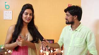 Diwali Special Interview With Beautiful Singer Harshi Mad At Her Place