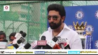 Football Is A Great Sport | Abhishek Bachchan | At Coach Education Session At Chelsea Football Club.