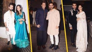 Aamir Khan's Diwali Party: A Star-Studded Affair | Bollywood celebs' Video you can't miss