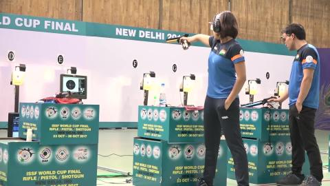 HEENA SIDHU N JITU RAI - AIMING FOR GOLD MEDAL