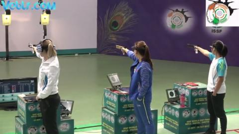 10m Air Pistol Women - Final Match - Part 2 #ISSFWCF