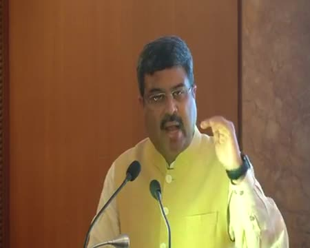 Dharmendra Pradhan At the launch function of Start-up programme for entrepreneurs in Oil & Gas sector