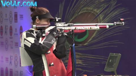 Final 10m Air Rifle Women - #ISSFWCF