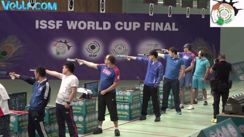 10m Air Pistol Men Final - ISSF WCF 2017