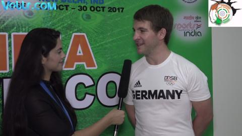 Exclusive Interview with Henri Junghaenel (GERMANY) - Silver Medal Winner in 50m Rifle Prone Men Final #ISSFWCF 2017