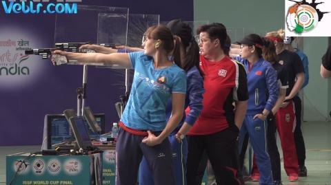 25m Pistol Women Final #ISSFWCF 2017