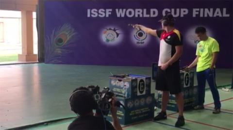 25m Rapid Fire Pistol Men Final - ISSF WCF 2017