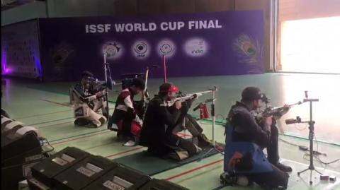 50m Rifle 3 Positions Men Final - ISSF WCF 2017