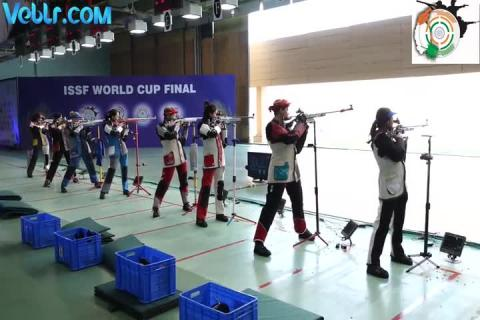 50m Rifle 3 Positions Women Final #ISSFWCF 2017