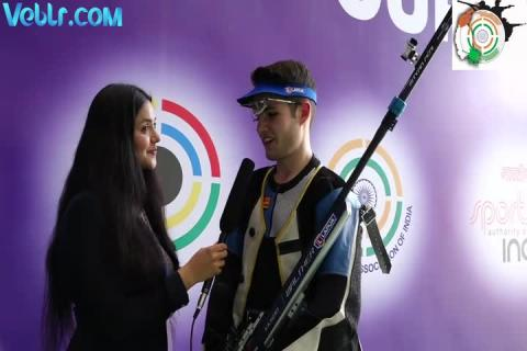 Interview with Istvan Peni (Hungarian) - Bronze Medal Winner in 50m Rifle 3 Positions Men Final #ISSFWCF 2017