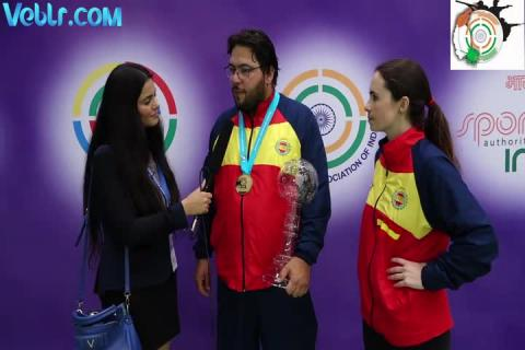 Interview with Alberto Fernandez - Gold Medal Winner in Trap Men Final #ISSFWCF 2017