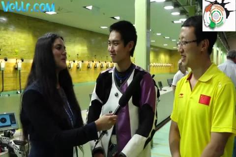 Interview with Sui Gengcheng (China) - Winner of Champions Trophy Event-2 #ISSFWCF 2017