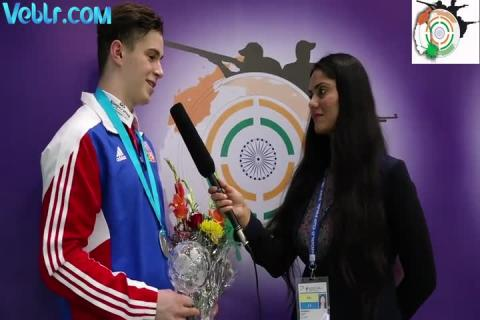 Interview with Nepejchal Filip (Czech) - Silver Medal Winner in 50m Rifle 3 Positions Men Final #ISSFWCF 2017